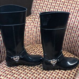 Michael Kors tall rain boots